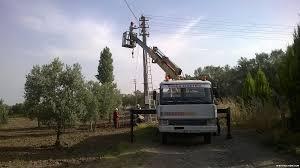 Elektrik tesisatı ve direk dikimi